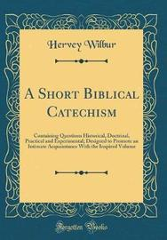A Short Biblical Catechism by Hervey Wilbur image
