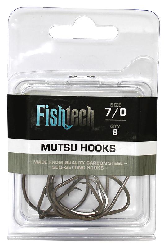 Fishtech Mutsu Hooks 7/0 (8 per pack)