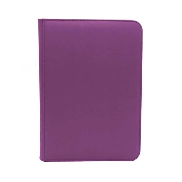 Dex Protection: Dex Zipper Binder 9 - Purple