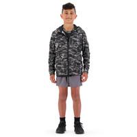 Canterbury: Boys Printed FZ Hoody - Frost Grey (Size 12)