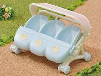 Sylvanian Families - Triplets Stroller