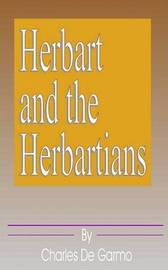 Herbart and the Herbartians by Charles de Garmo image