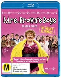 Mrs Brown's Boys - The Complete Third Season on Blu-ray