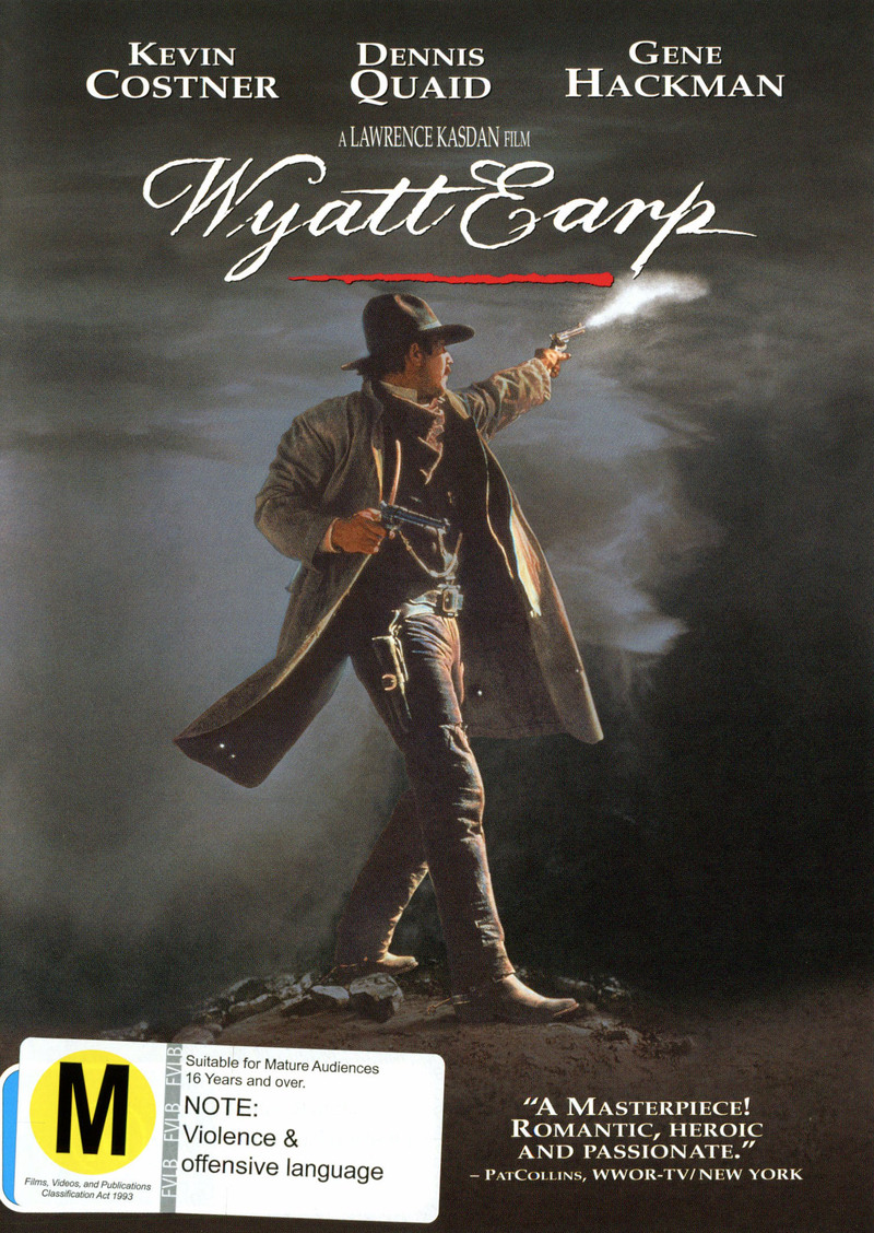 Wyatt Earp on DVD image