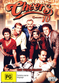 Cheers - Complete Season 10 (4 Disc Set) on DVD image