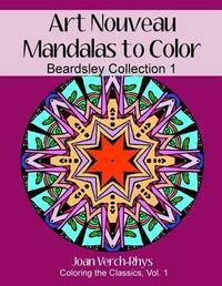 Art Nouveau Mandalas to Color by Joan Verch-Rhys