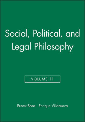Philosophy of Law and Social Philosophy