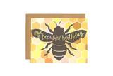 One Canoe Two: Bee-utiful Birthday - Greeting Card