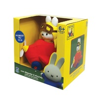 Miffy: Squeaky Vehicle Assortment - Car/Plane