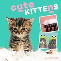 Cute Kittens 2019 Mini Wall Calendar