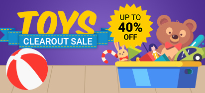 Toys Clearout Sale!