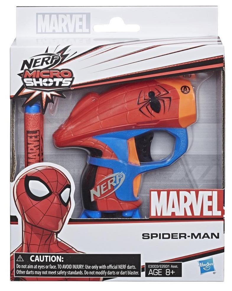 Nerf Marvel: Microshot Blaster - Spider-Man image