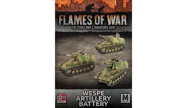 Flames of War: Wespe Artillery Battery