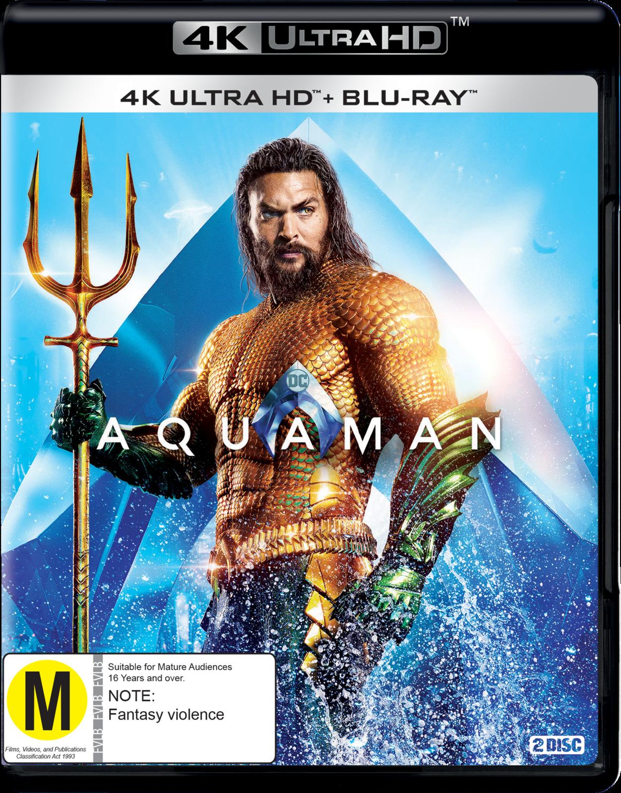 Aquaman on Blu-ray, UHD Blu-ray image