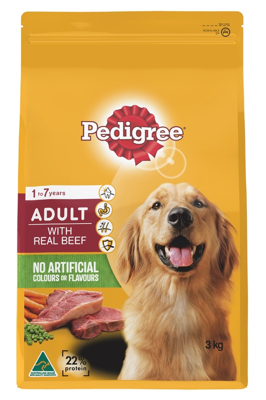 Pedigree Adult With Real Beef (3kg)