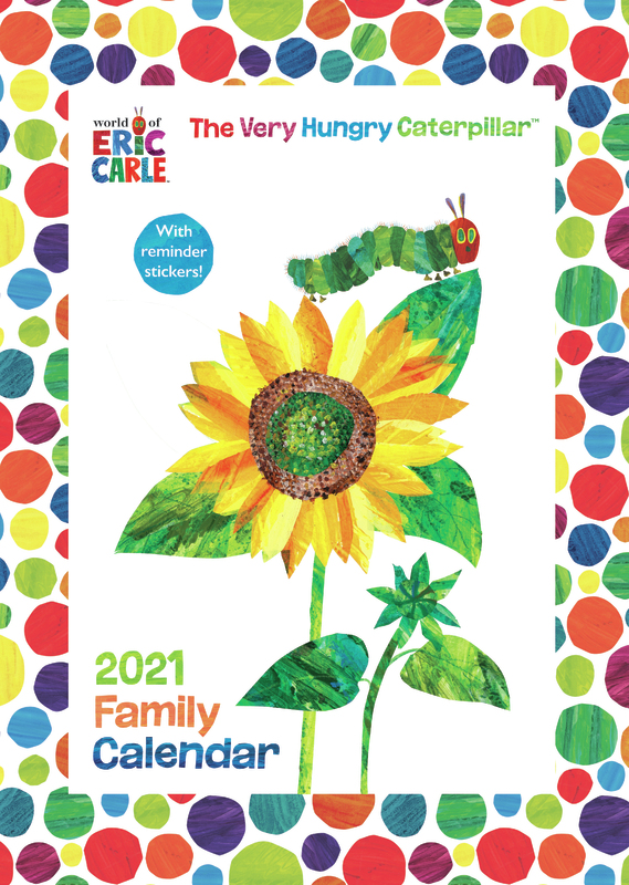 Portico: Hungry Caterpillar 2021 A3 Calendar