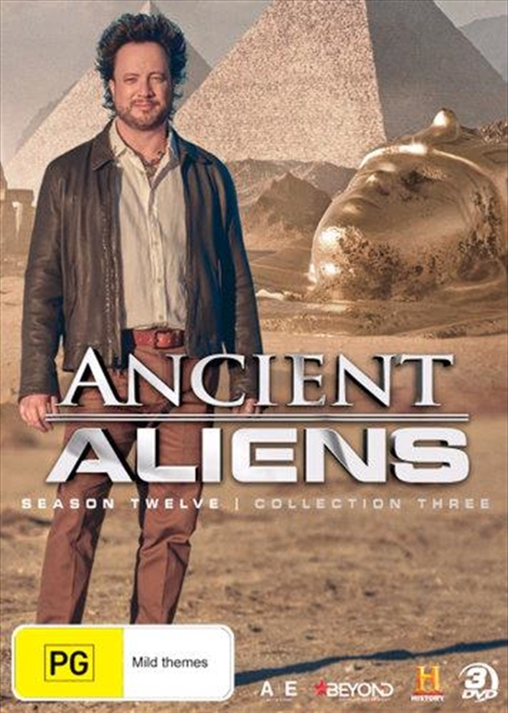 Ancient Aliens: Season 12 - Collection 3 on DVD