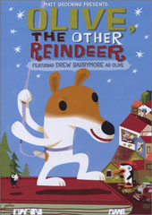 Olive, The Other Reindeer on DVD