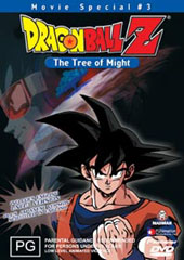 Dragon Ball Z - Movie 03 - The Tree Of Might on DVD