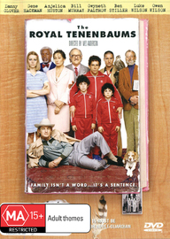 The Royal Tenenbaums on DVD image