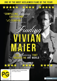 Finding Vivian Maier on DVD image
