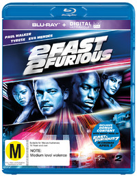 2 Fast 2 Furious on Blu-ray