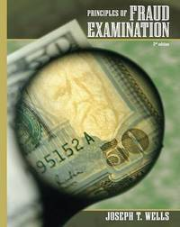 Principles of Fraud Examination by Joseph T Wells image