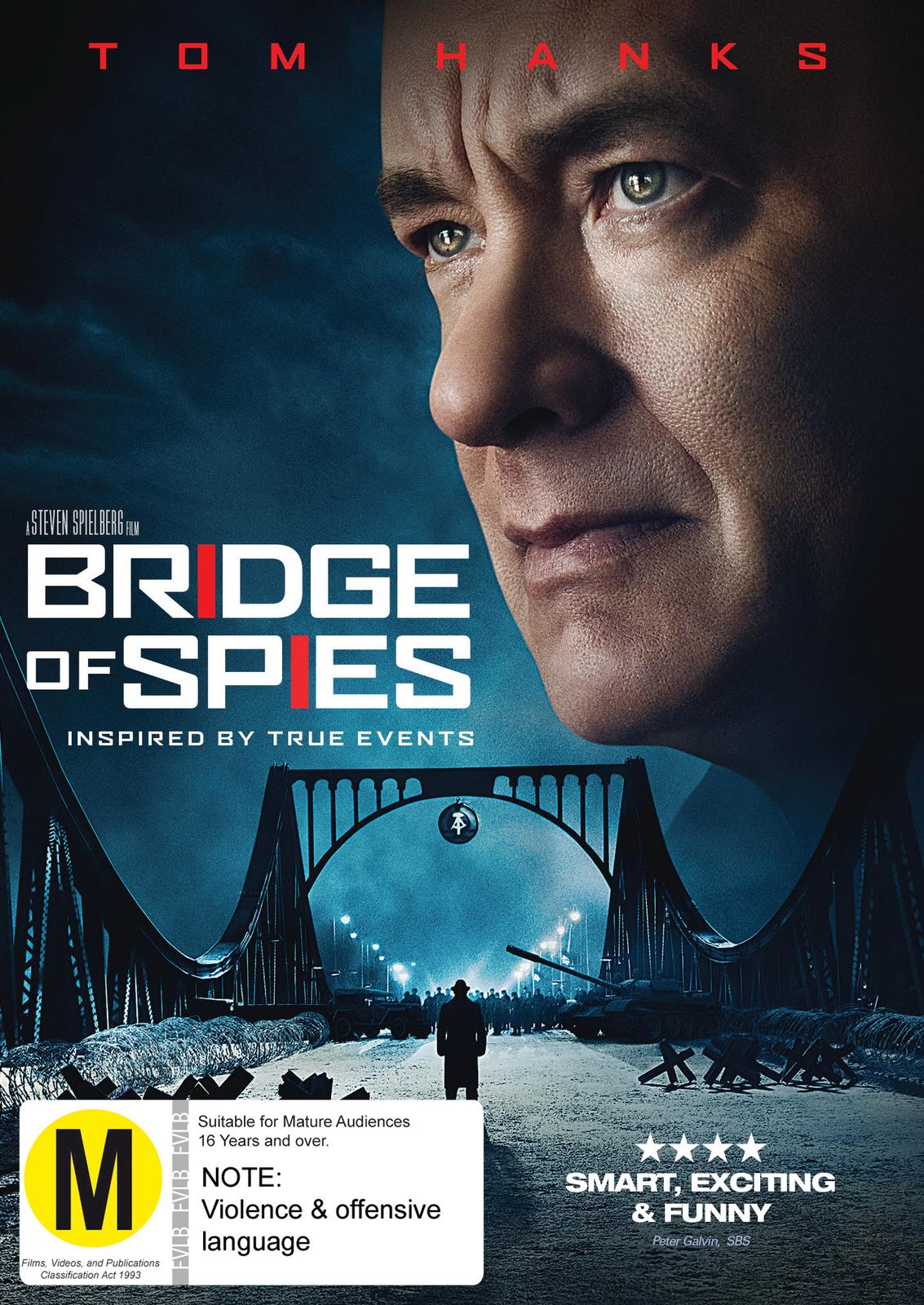 Bridge Of Spies on DVD image
