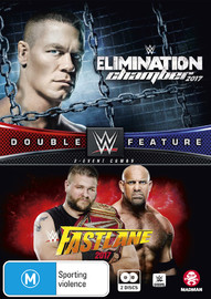 WWE: Fast Lane 2017 / Elimination Chamber 2017 - Double Feature on DVD