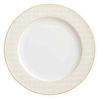 Maxwell & Williams Cashmere Nocturne Dinner Plate 27.5cm White/Gold