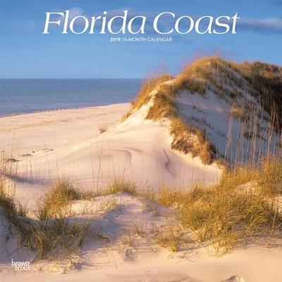 Florida Coast 2019 Square by Inc Browntrout Publishers