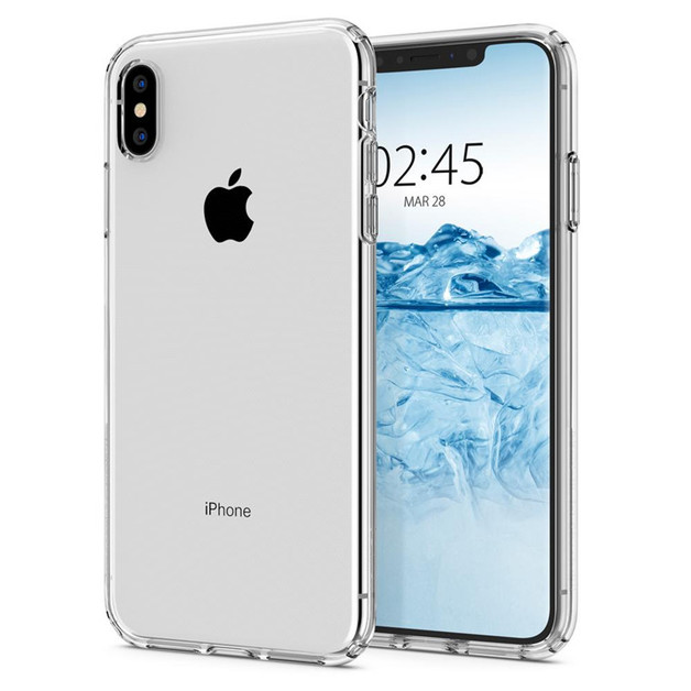 Spigen: Liquid Crystal Case for iPhone XS - Clear