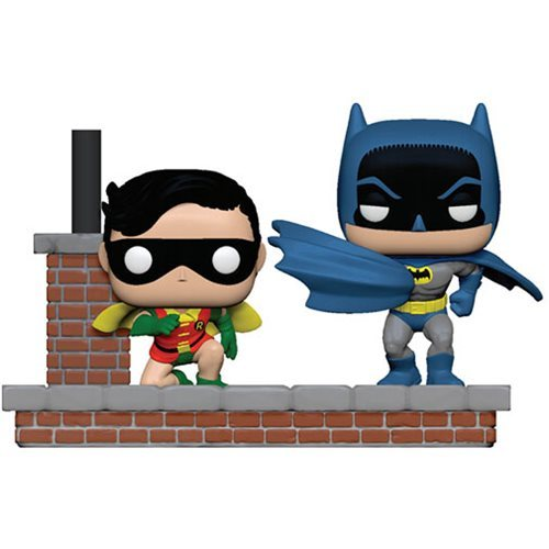 DC Comics: Batman & Robin (1972 ver.) - Pop! Comic Moment Vinyl