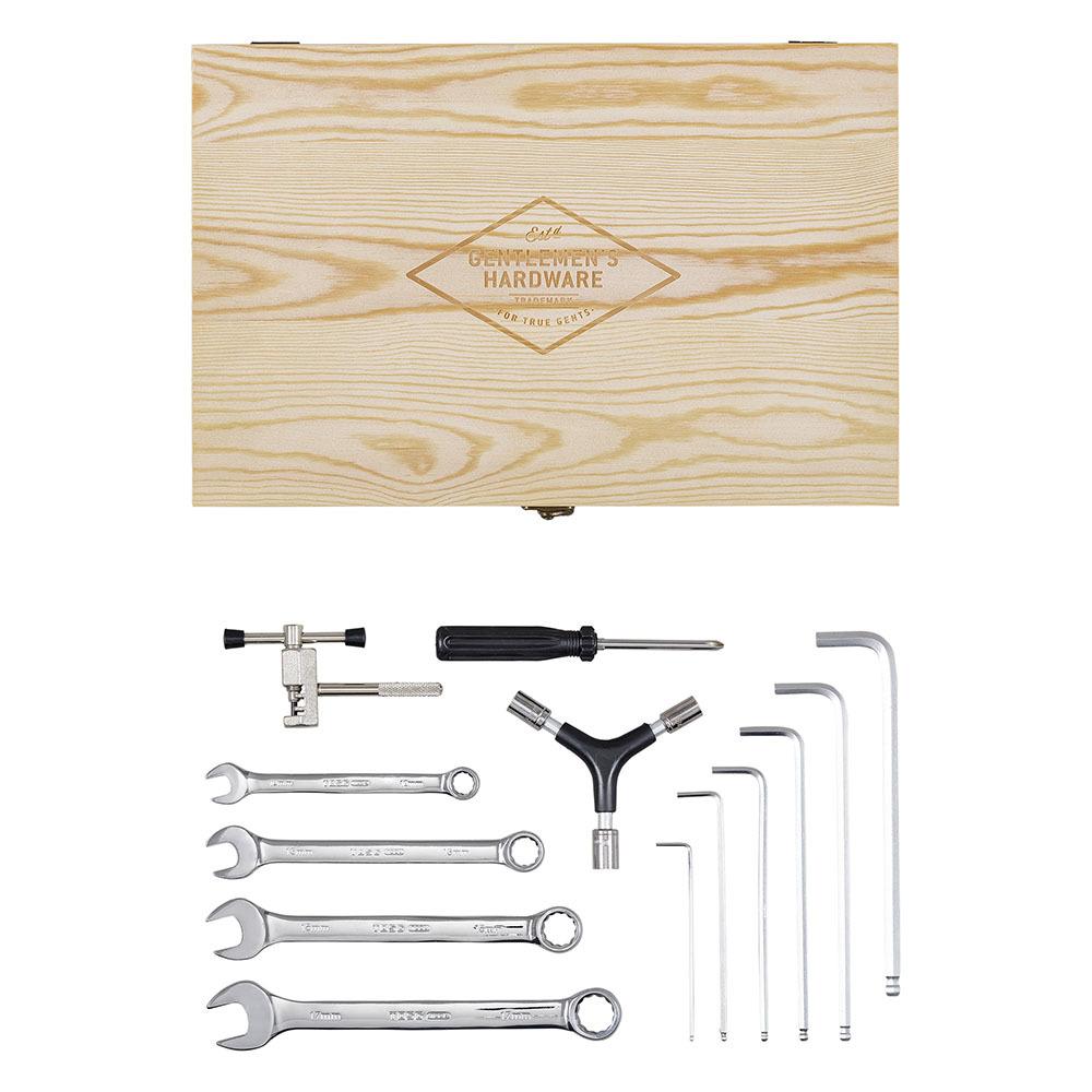 Gentlemen's Hardware Bicycle Tool Kit Wooden Box image