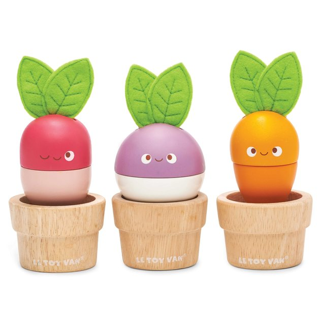 Le Toy Van - Wooden Stacking Veggies
