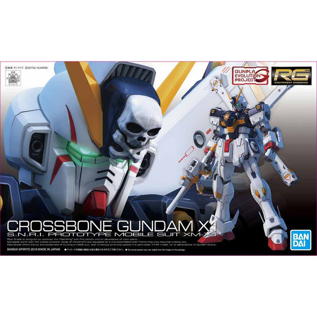 RG 1/144 Crossbone Gundam X1 - Model Kit