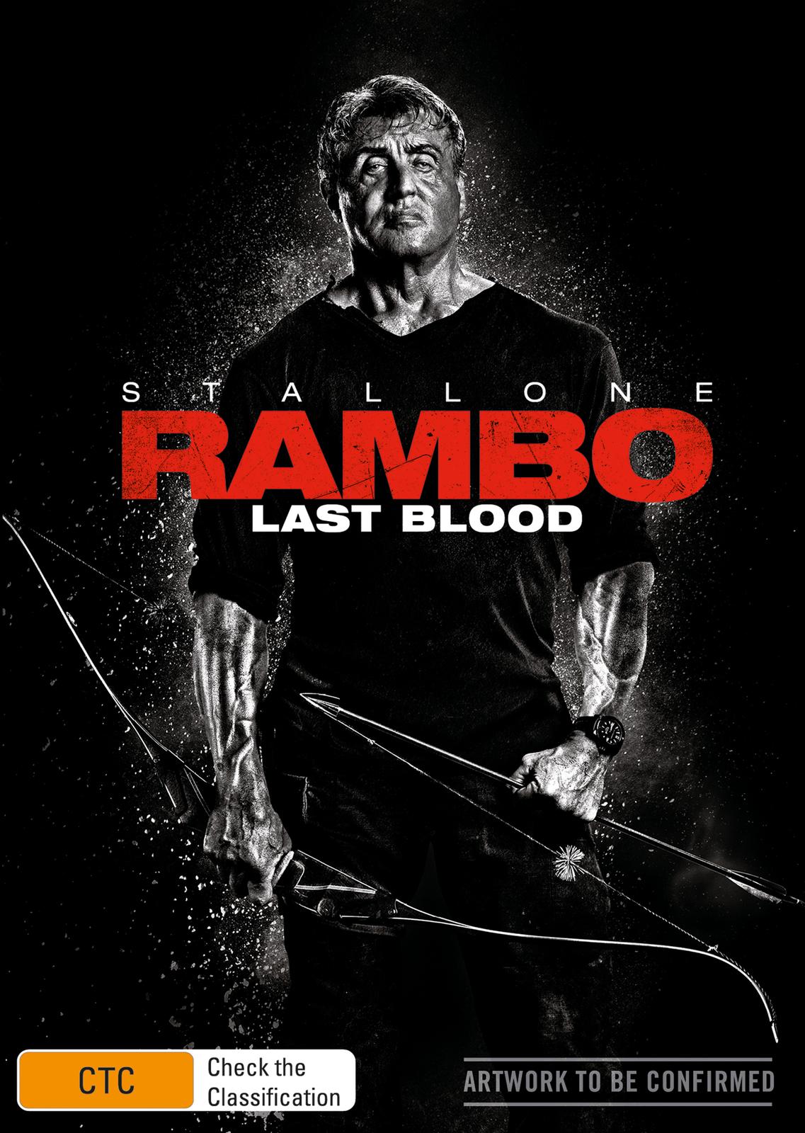 Rambo: Last Blood on DVD image