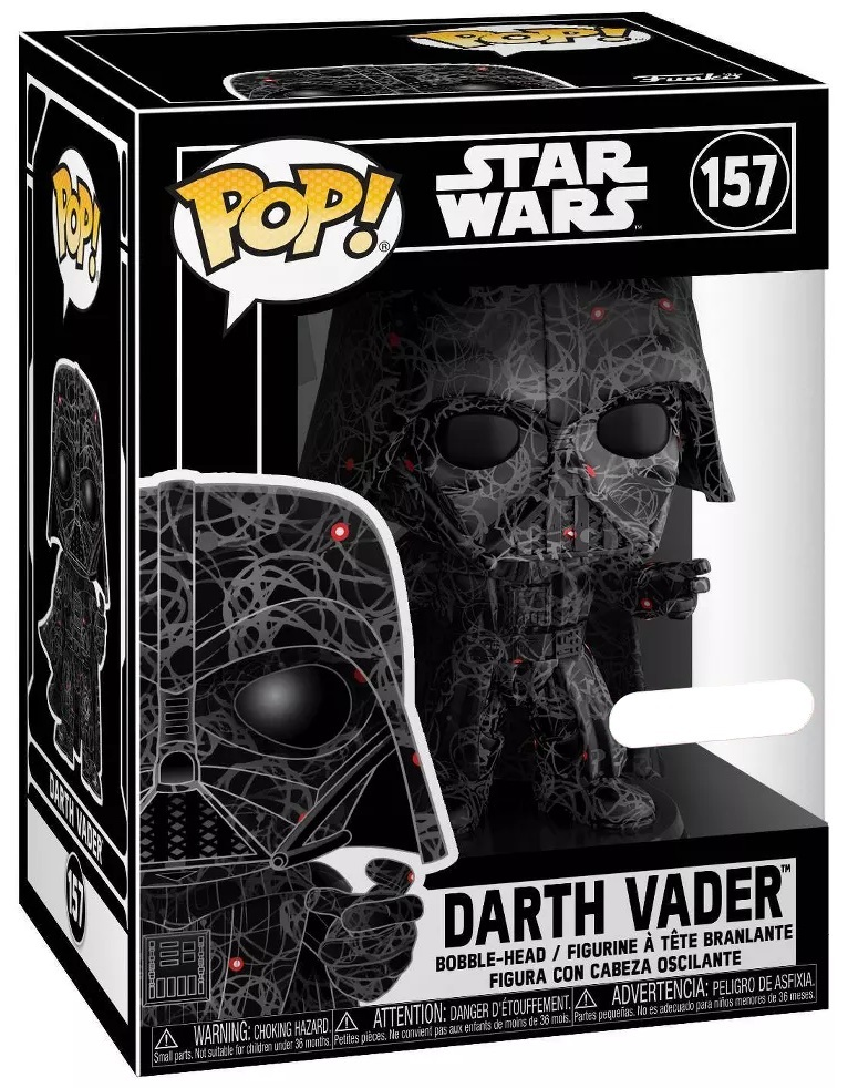 Star Wars - Darth Vader (Futura) Pop! Vinyl Figure + Protector image