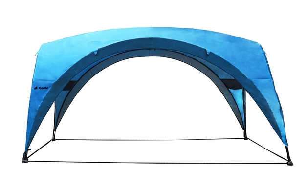 Beach & Sun Shade Shelter Gazebo (450x450x230cm) | Blue