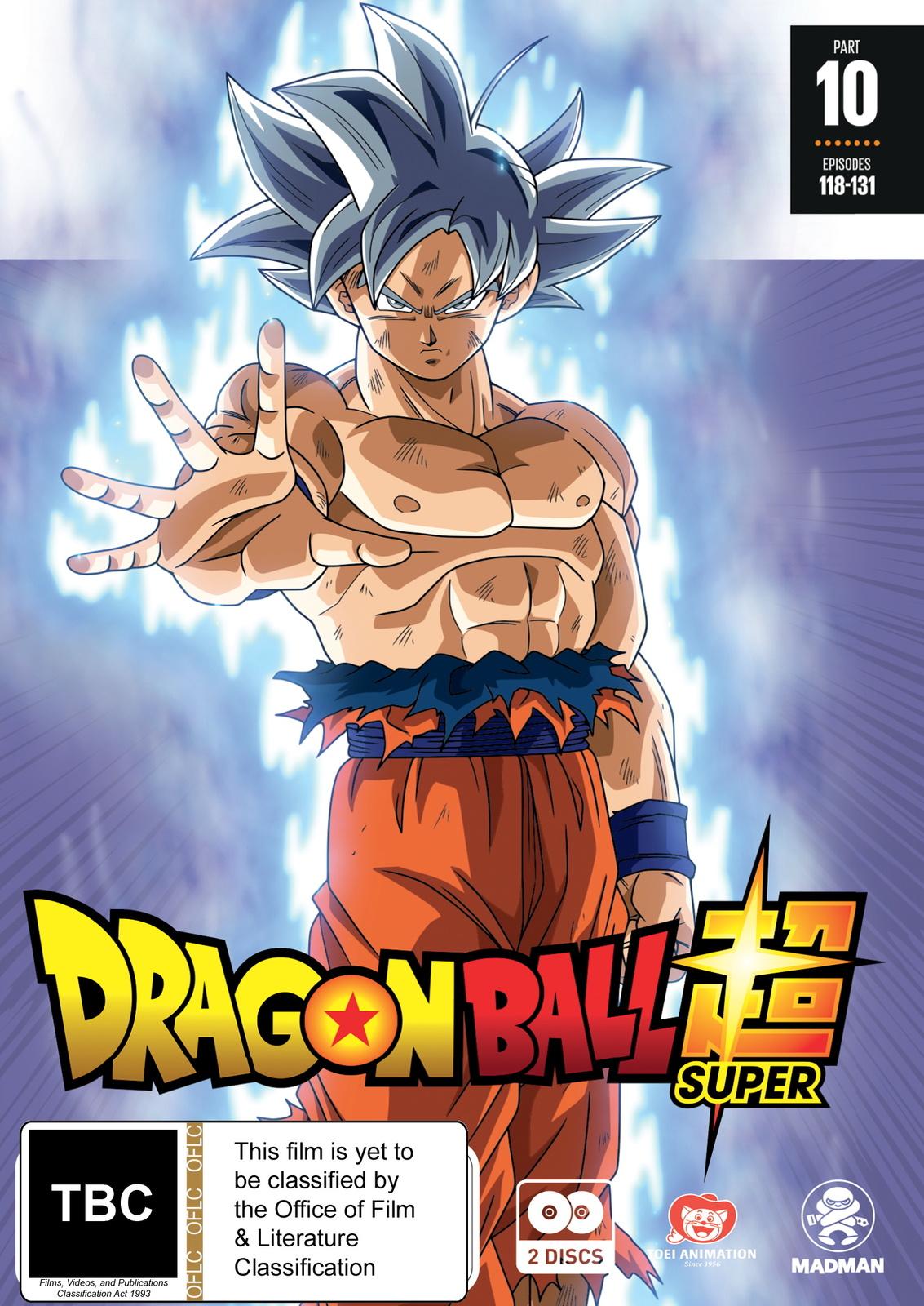 Dragon Ball Super - Part 10 (Eps 118-131) on DVD image