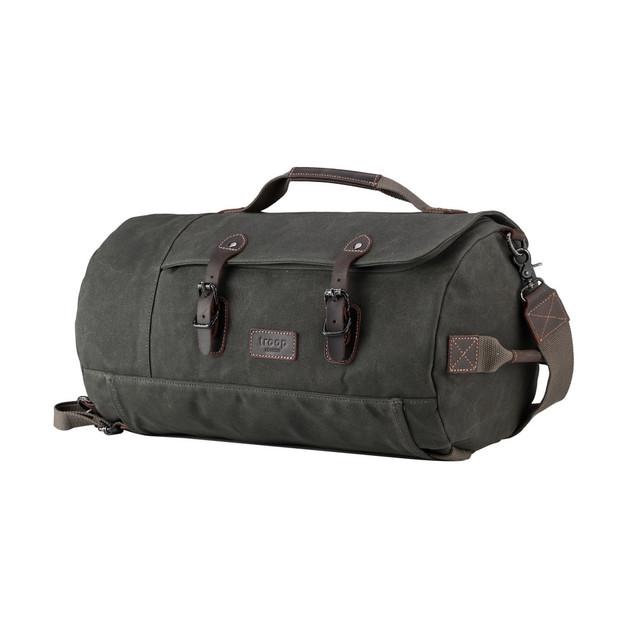 Troop London: Nomad Holdall Backpack - Dark Green