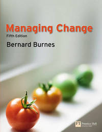 Managing Change by Bernard Burnes image