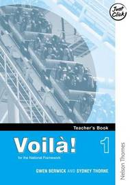 Voila! 1 Teacher's Book by Gwen Berwick image