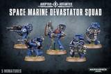 Warhammer 40,000 Space Marine Devastator Squad (2015)