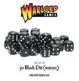 30 Black D6 (10mm)