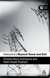 Nietzsche's Beyond Good and Evil by Christa Davis Acampora
