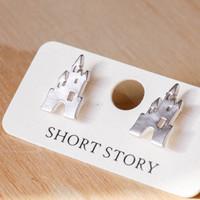 Short Story: Funky Play Earrings - Silver Castle