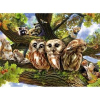 Ravensburger : Woodland Neighbours Puzzle 200pc