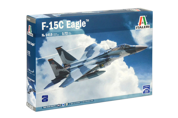 Italeri 1/72 F-15C Eagle - Scale Model Kit