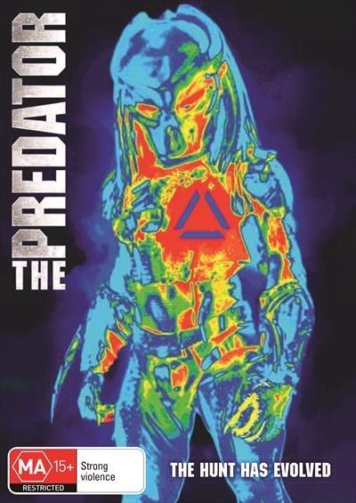 The Predator (2018) on DVD